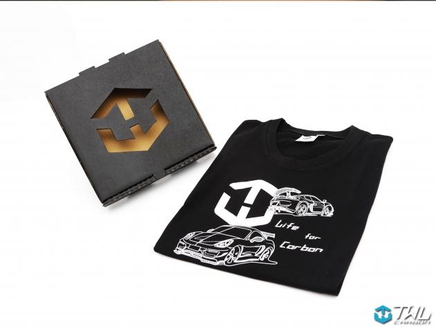 TWLCarbon Porsche 981 Limited Edition T-shirt (Black) 3