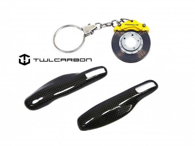 Porsche Carbon Fiber Key Cover 3