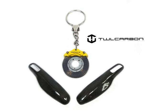 Porsche Carbon Fiber Key Cover 4